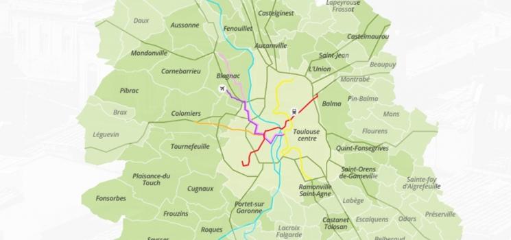 Villes proches de Tououse où investir en loi Pinel